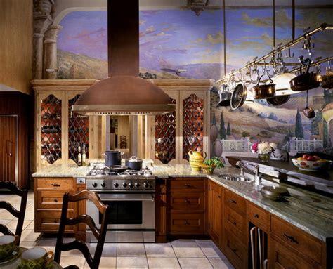 kitchen wall mural ideas 23 luxury mediterranean kitchen design ideas