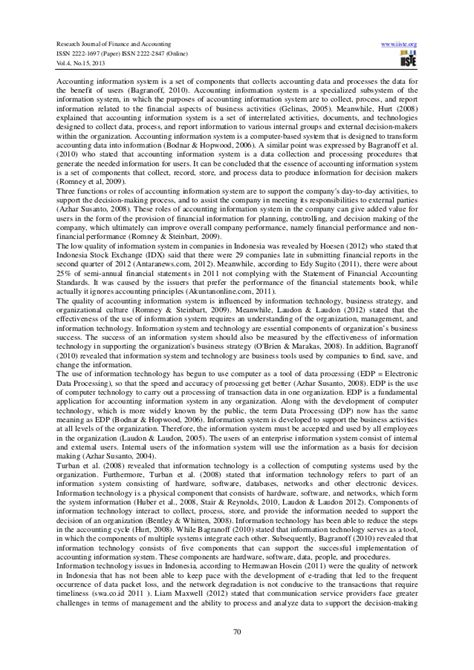 research paper on information systems research paper on accounting information system ssrn