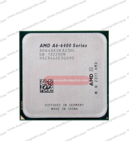 Amd A6 6400k Richland 3 9ghz processor amd a6 6400k richland socket fm2