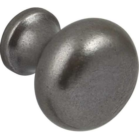 Pewter Door Knobs by Cabinet Door Knob Pewter Finish 35mm Traditional
