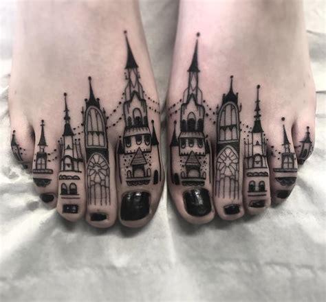 toe tattoo designs toe buildings best design ideas