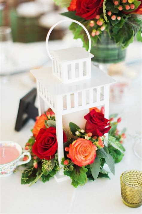 wedding centerpieces with flowers and lanterns 2 19 ikea flower hacks to brighten up your wedding decor