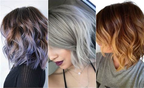 hairstyles and color for short hair top 10 winter hair color trends for short hair