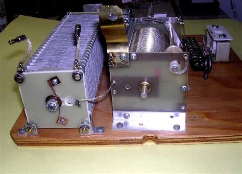 capacitor inductor diff remote antenna tuner