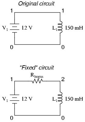 voltage source and or inductor loop involving v v voltage source and or inductor loop involving v v1 28 images voltage source and or inductor