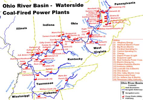 united states map showing ohio river planning center of expertise for inland navigation