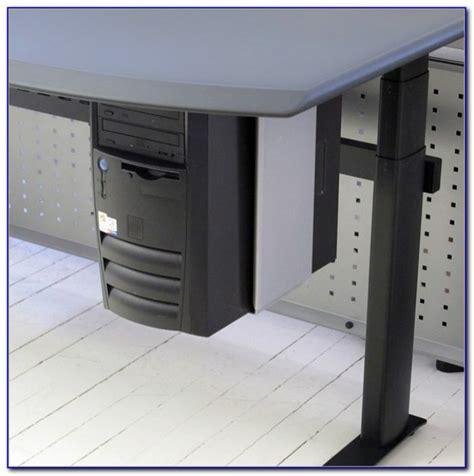 desk pc mount desk pc mount horizontal desk home design ideas
