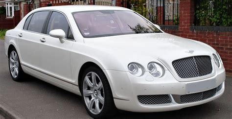 white bentley flying spur wedding cars phantom car hire bentley car hire