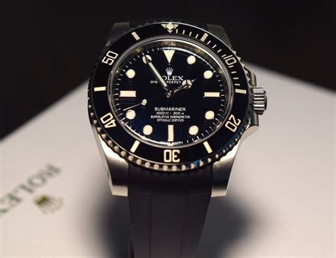 rubberb for rolex submariner gmt master ii review
