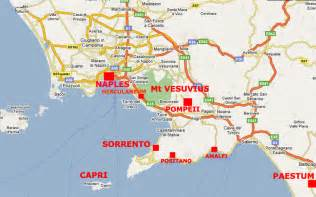Sorrento Italy Map by Sorrento Apartment Apartments In Sorrento