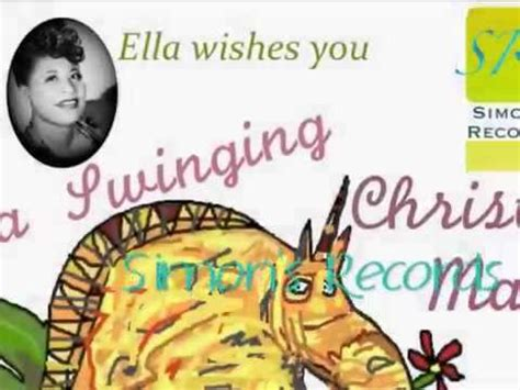 ella fitzgerald ella wishes you a swinging christmas frosty the snow man ella fitzgerald original album ella