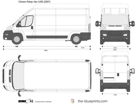 How To Draw Floor Plan In Autocad The Blueprints Com Vector Drawing Citroen Relay Van Lwb