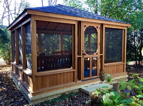 gazebo house 25 best ideas about screened in gazebo on