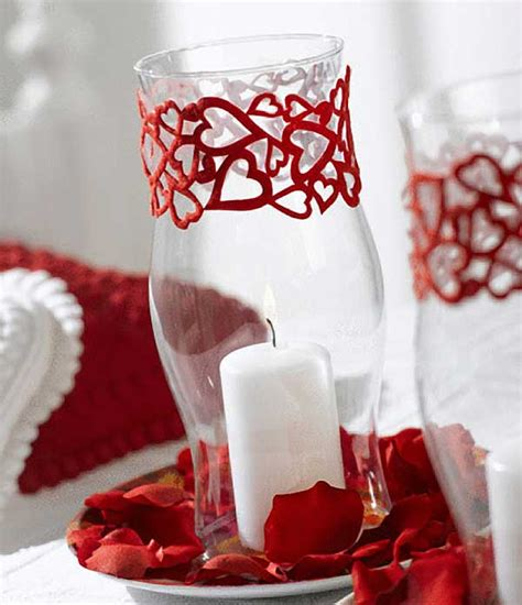 valentine table decorations 10 quick and easy valentine s day candle centerpieces