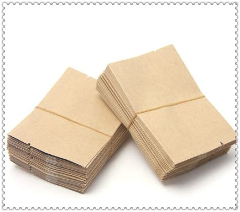 Paper Look With Tea Bags - aliexpress buy 200pcs lot cowhide small paper tea