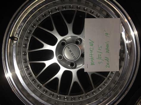 zedd rims fs 19 quot zedd slm wheels w tires g35driver