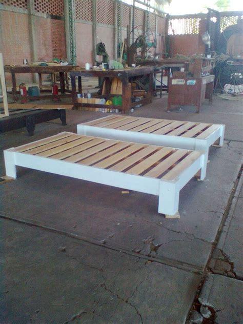 bases de madera  cama  en mercado libre