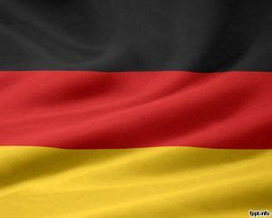 Flag Of Germany Powerpoint Germany Powerpoint Template