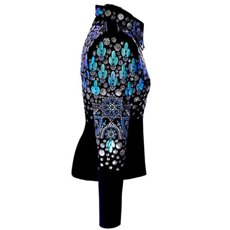 color changing jacket color changing iridescent western show jacket nelle
