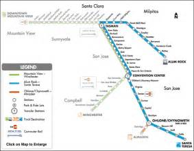 San Jose Vta Map by Public Transportation San Jose Theaters