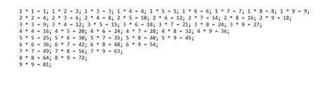 print multiplication table javascript loops how to print out the multiplication table from 1