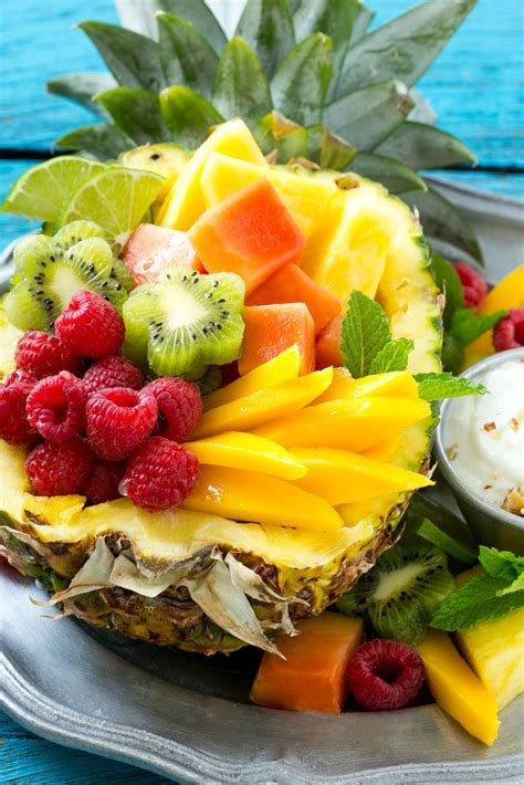 summertime tropical fruit salad recipe allrecipescom summertime tropical fruit salad recipe dishmaps