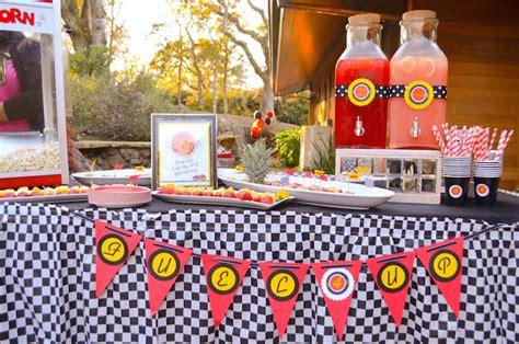 cars themed birthday ideas kara s party ideas race car themed birthday party decor