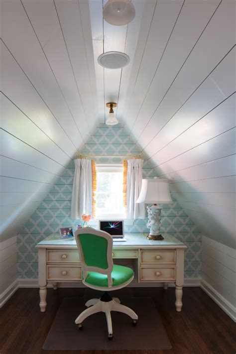 Storage Tips For Small Bedrooms - turning attic into living spacebetterdecoratingbible
