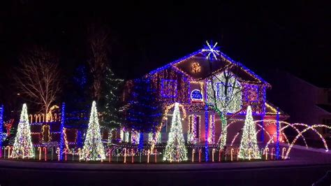 cadger christmas light show give it up 2015 youtube