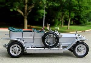 Franklin Mint Rolls Royce Franklin Mint 1 24 1907 Rolls Royce Silver Ghost Diecast