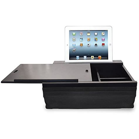 portable lap desk with storage icozy portable cushion lap desk with storage daily deal