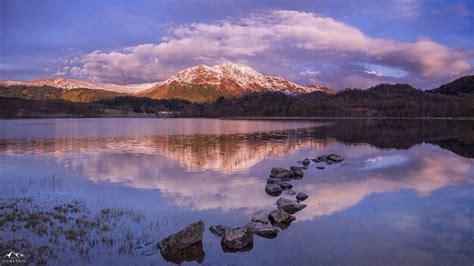 sunrise landscape photography scotland ben place  loch