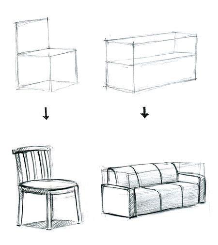 3d Sofa Drawing