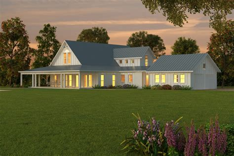 one story farmhouse 1 story barn house plans joy studio design gallery