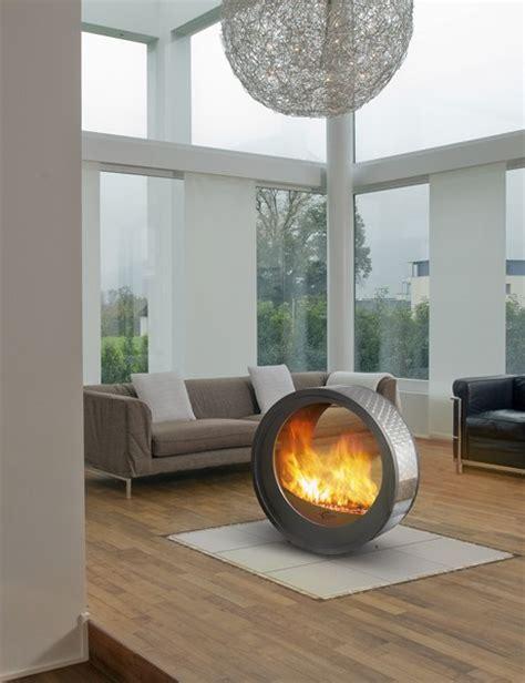 Circular Fireplace fireplaces mobile fireplace design eclypsya by arkiane