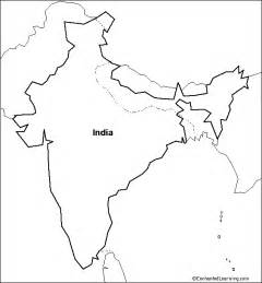 India Physical Map Outline In A4 Size by India Map Outline New Calendar Template Site