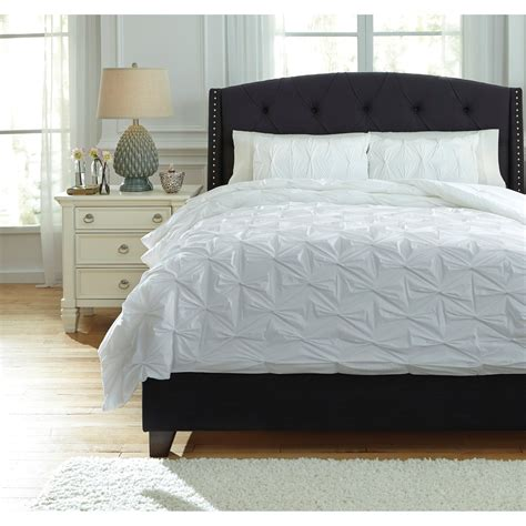 ashley furniture comforter sets signature design by ashley bedding sets king rimy white