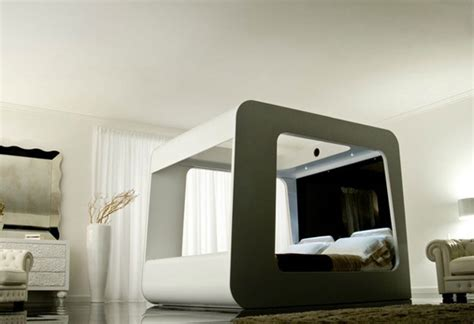 hi can bed modern beds high fidelity canopy by hican home design