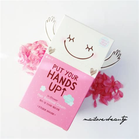 Etude Put Your Up review etude house put your up hair removal