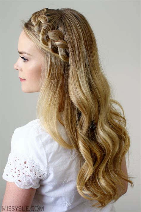 hairband style braid headband braid style like pro