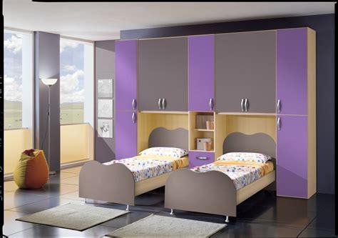 da letto per ragazzi cameretta per ragazzi ponte doppio letto fiores mobili