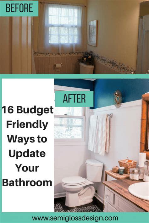 diy bathroom renovation ideas  wont break  bank