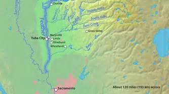 northern california rivers map when the levees again new america media