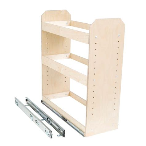 3 tier cabinet organizer slide a shelf made to fit 6 in to 12 in wide 3 tier