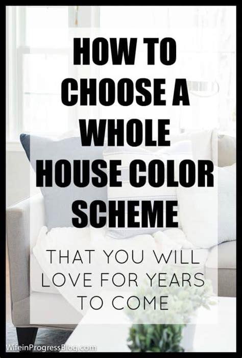 whole house color palette 2017 whole house color scheme pick the perfect colors for your