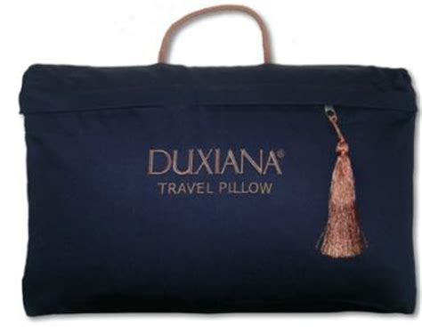 2006 duxiana 174 travel pillow travel with luxury