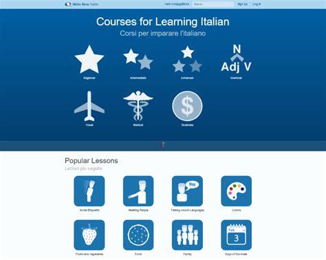 best way to learn italian for travel 29 best free websites to learn italian