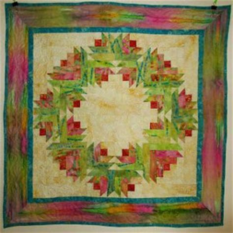 watercolor quilt tutorial summer song watercolor flower wreath quilt favequilts com