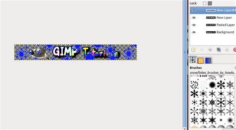 gimp tutorial website header tutorial how to make a website banner for christmas time