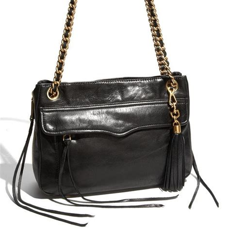 rebecca minkoff swing 395 rebecca minkoff swing double chain leather shoulder